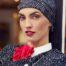 Ruby Skye Boho hat sort fra Christine Headwear