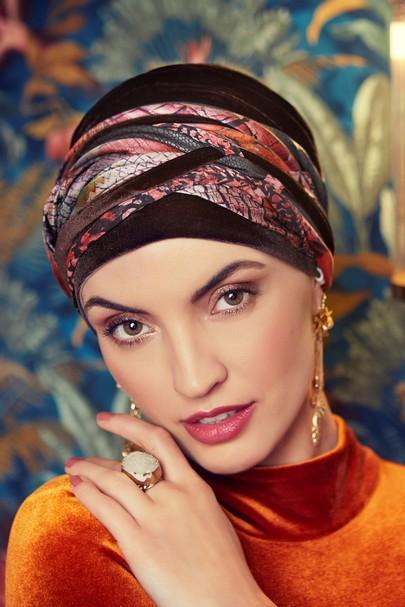 Scarlett Boho Turban Set Velvet