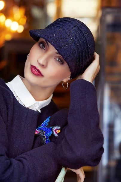 Pandora boucle cap fra boho headwear