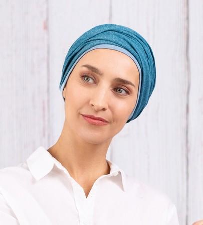 Chapilie Chatelet blå turban