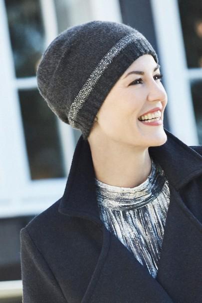 Neve mørk grå Christine Headwear
