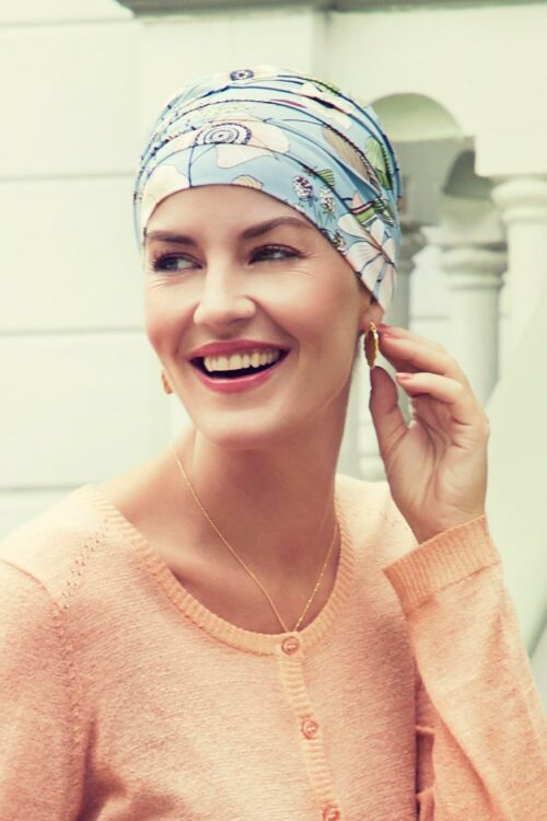Yoga Turban oriental flowers Christine Headwear