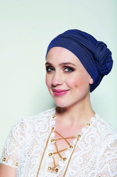 Nala marineblå Gisela Mayer headwear