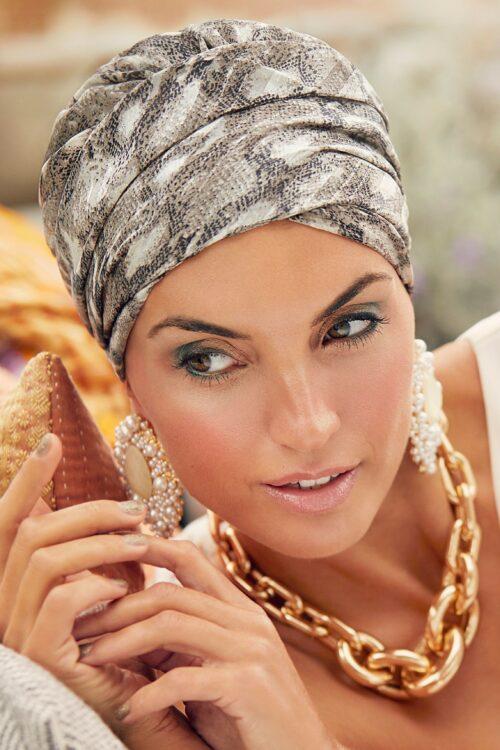 Sapphire snake boho headwear