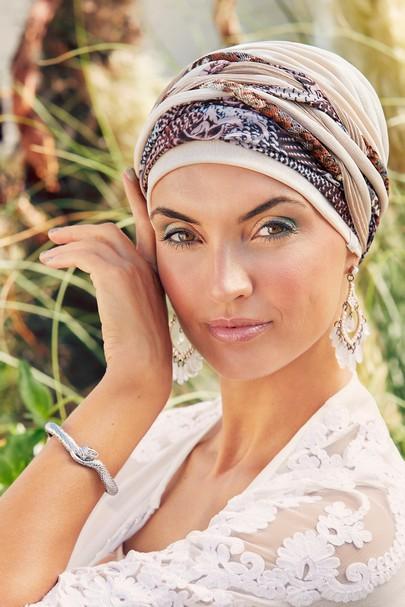 scarlett cream rococo bohospirit headwear Christine headwear