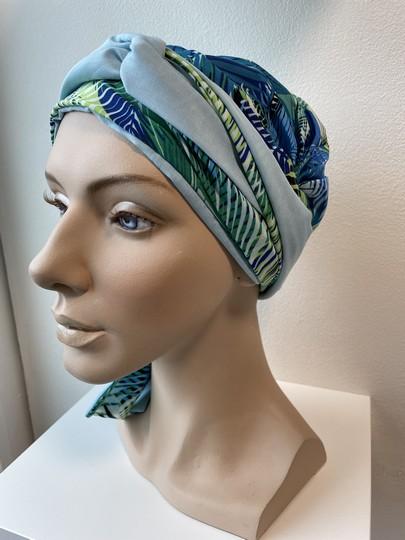 Mayte headwear blå palmer