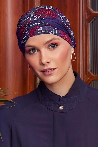 Shanti Artistic Autumn turban til kræftramte