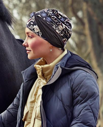 Shakti modern paisley turban fra Christine Headwear
