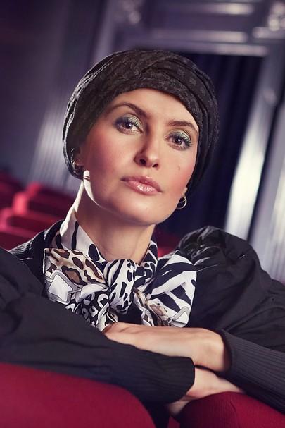 Emmy Turban matt n shiny fra Viva Headwear