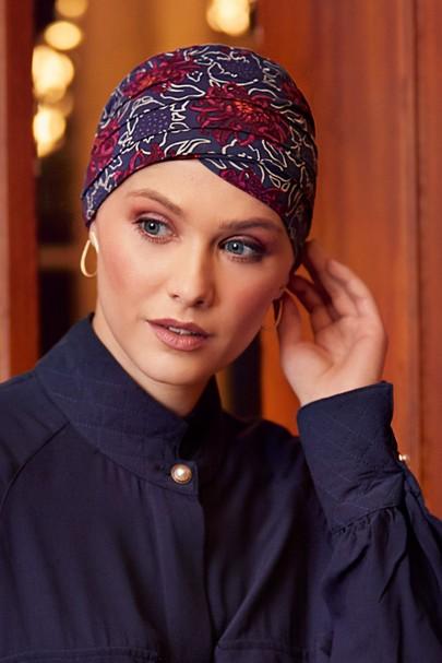 yoga turban artistic autumn