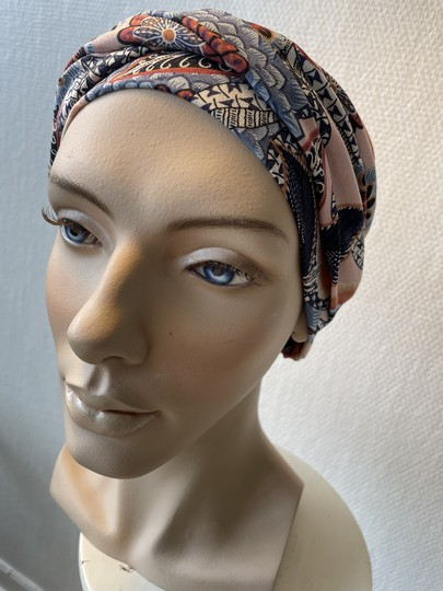Malou print paisley turban til kræfremte fra Gisela Mayer